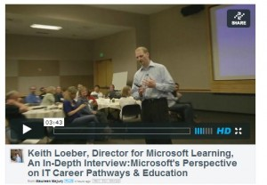 June 7 2013 IT Summit In Depth Interview with Keith Loeber