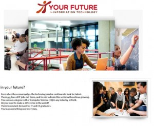 Your Future in IT website
